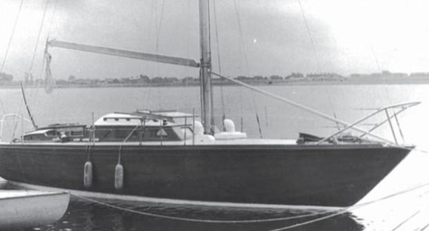 Jacht morski King's Ametyt. Na podobnym Stanley Jabłoński przepłynął Atlantyk