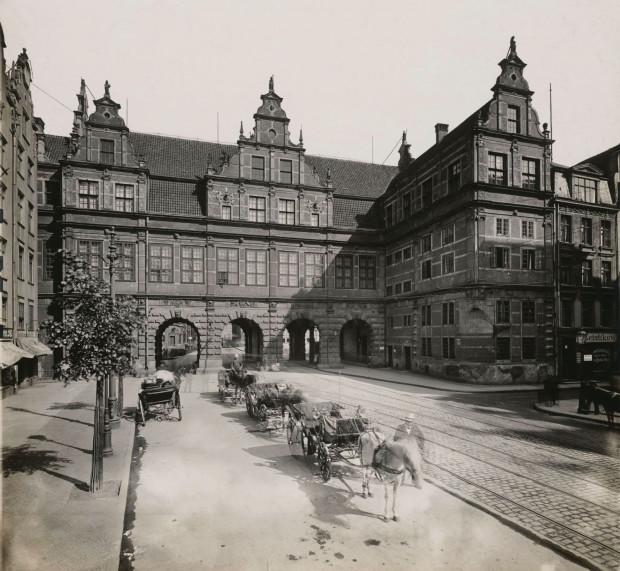 Zielona Brama - siedziba Muzeum Prus Zachodnich, którym przez 30 lat kierował Hugo Conwentz.