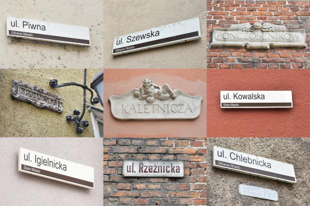 Wiele ulic dawnego Gdańska dotyczy zawodów, jednak myślenie, że dokładnie w tych miejscach można było spotkać ich przedstawicieli jest raczej życzeniowe.