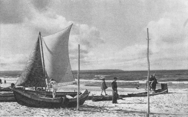 Przy parku Brzeźnieńskim zaproponowano przystań dla małych łódek morskich. W przeszłości taki widok na plażach był częsty.