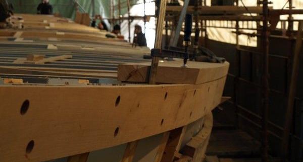 Trwa remont Generała Zaruskiego. Jacht będzie gotowy przed przyszłorocznym sezonem żeglarskim.
