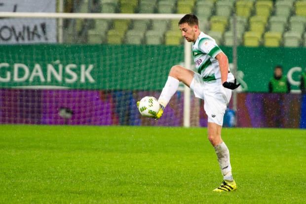 Mario Maloca był jedynym piłkarzem Lechii, który potrafił posłać piłkę do siatki Piasta Gliwice.