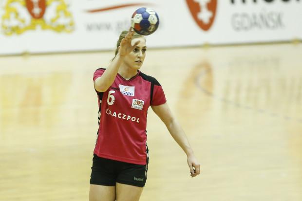 Paula Mazurek zdobyła w niedzielę 6 bramek dla Łączpolu w spotkaniu z KPR Gminy Kobierzyce.