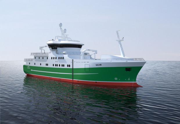 Longliner wyposażony zostanie m.in. w specjalny system automatycznego łowienia i umieszczania ryb w skrzyniach w przetwórni.