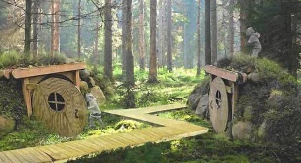 Ogród botaniczny w gdyńskim Marszewie zyska m.in. przeznaczony dla dzieci szlak Alicji w Krainie Czarów.