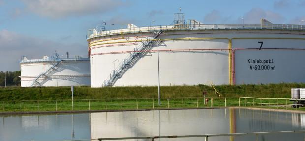 Budowa nowych zbiorników pozwoli zwiększyć pojemność magazynową bazy w Gdańsku z 900 tys. do 1,1 mln m sześc.
