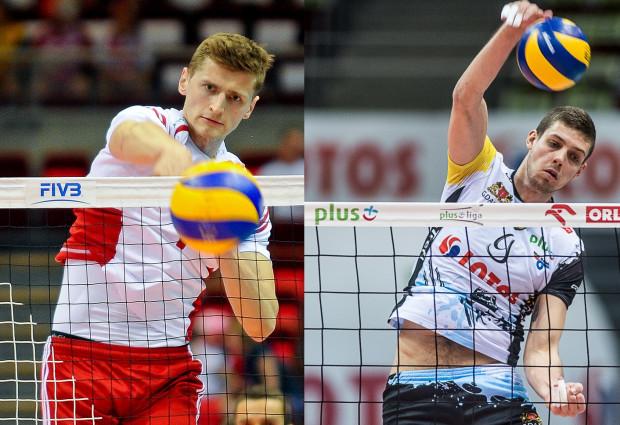 Piotr Nowakowski (z lewej) może zastąpić Dmytro Paszyckiego (z prawej) w Lotosie Treflu.