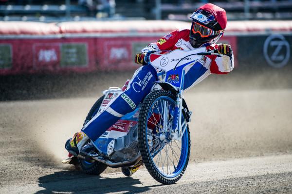 Remis w Łodzi to dla gdańszczan dobry wynik. Niewykluczone jednak, że mogli pokusić się o zwycięstwo, gdyby odbyło się 15 wyścigów. Znakomicie dysponowany był m.in. Renat Gafurow (na zdjęciu), który wystartował trzy razy i dwukrotnie przywiózł wygrane 5:1 w parze z Andersem Thomsenem.
