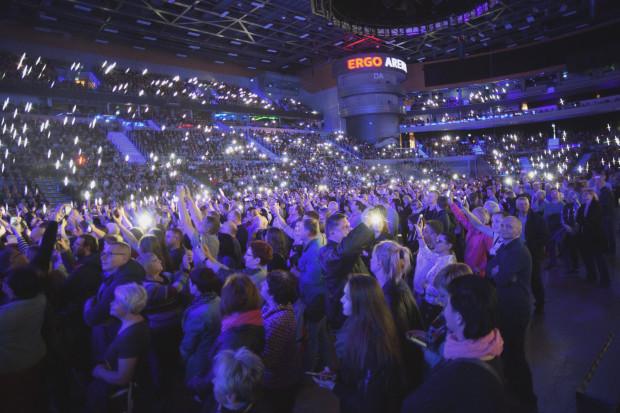Na widowni podczas koncertu zasiadło przeszło 9 tys. słuchaczy.