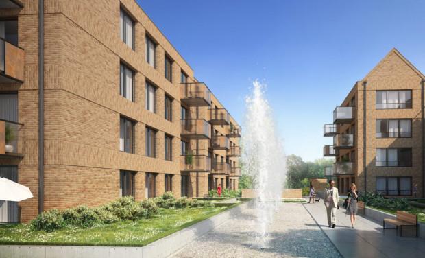 Front Park składał się będzie z siedmiu trzypiętrowych budynków.