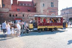 Brązowe malowanie tramwajów, obowiązujące do lat 20. ubiegłego wieku.