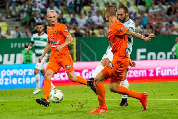 Termalica była pierwszą drużyną, która wygrała z Lechią za kadencji Piotra Nowaka w Gdańsku.
