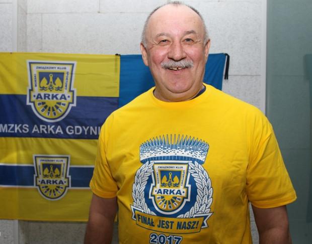 Janusz Kupcewicz 38 lat temu strzelił jedną z dwóch bramek, które dały Puchar Polski Arce Gdynia.