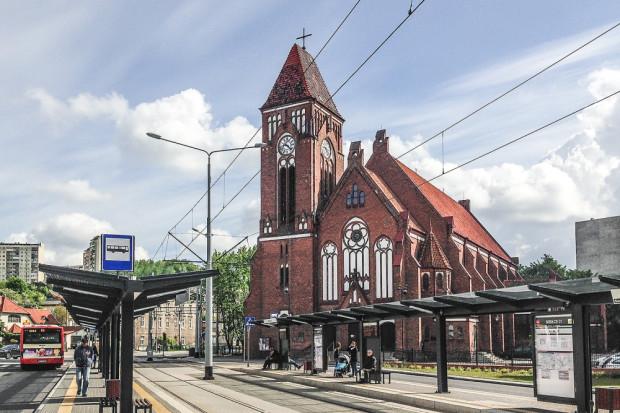 Kościół św. Franciszka z Asyżu w gdańskim Emaus. Pierwszym proboszczem był ks. Stanisław Białk.