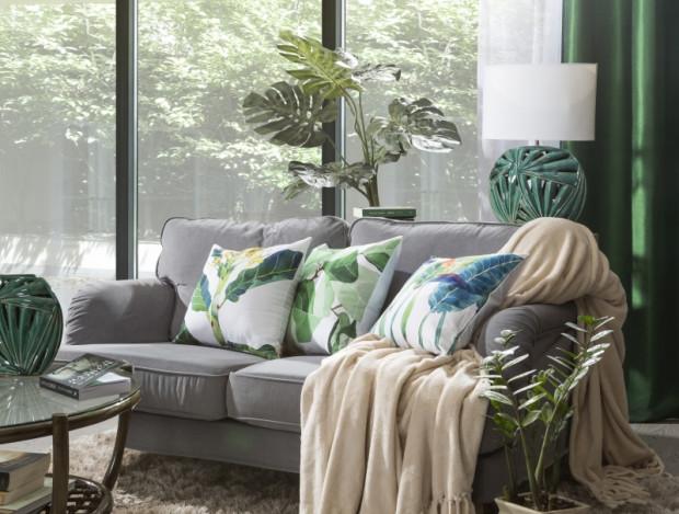 Inspiracje roślinnością są ostatnimi czasy motywem przewodnim w wielu mieszkaniach i domach.