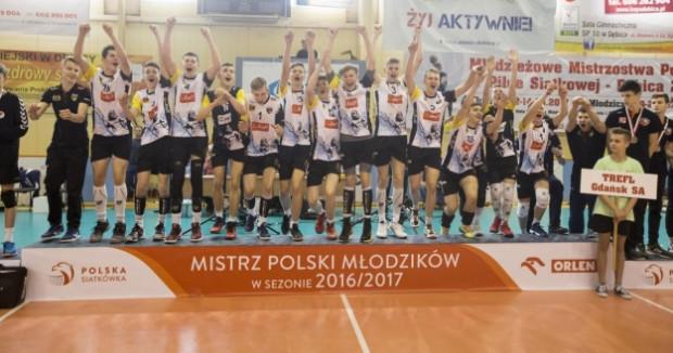 Młodzicy Trefla Gdańsk na podium mistrzostw Polski.