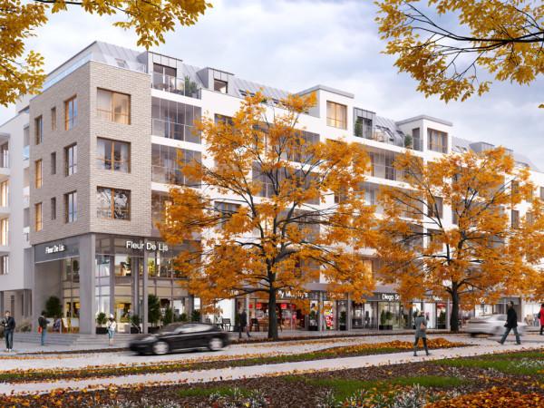 Scena Apartamenty to nowa inwestycja firmy Euro Styl, która powstanie we Wrzeszczu, w miejscu gdzie mieściło się kino Znicz.