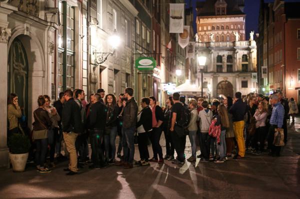 Noc Muzeów to często tłumy zwiedzających w trójmiejskich placówkach.