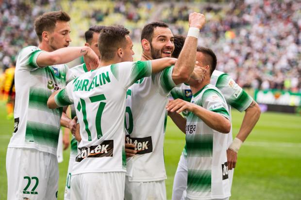 Piłkarze Lechii mogą być zadowoleni z formy. Jeżeli utrzymają ją w trzech ostatnich meczach sezonu, powinni zagrać o europejskie puchary.