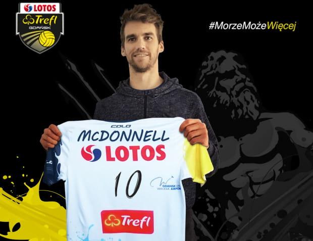 Daniel McDonnell ostatnio występował we Francji, gdzie dwukrotnie zdobył mistrzostwo kraju. Teraz zamierza dalej się rozwijać w Polsce.