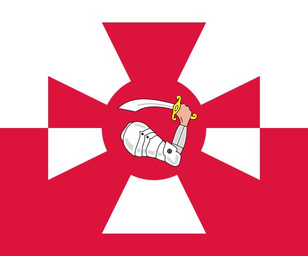 Proporzec Marynarki Wojennej RP.