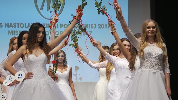 Kandydatki prezentowały się również w sukniach ślubnych.