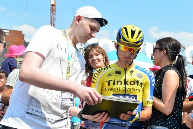 Rafa Majka ścigał się w Trójmieście m.in. w 2014 roku, podczas pierwszej etapu Tour de Pologne.
