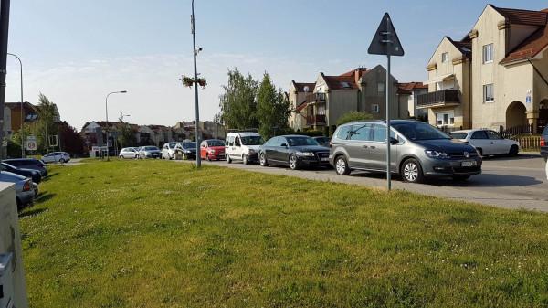 Zakorkowany wyjazd z Kowal w kierunku Gdańska.