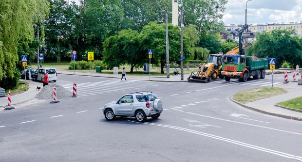 Kolejne zmiany zajdą m.in. na skrzyżowaniu na Witominie, gdzie dwa lata temu inwestycja w bezpieczeństwo została już wykonana.