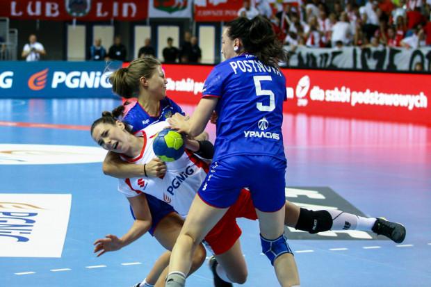 Monika Kobylińska (na zdjęciu) była jedną z pięciu gdyńskich zawodniczek, które zagrały przeciwko Rosji. Niestety, Polki nie znalazły patentu na mistrzynie olimpijskie i nie zdołały awansować na mistrzostwa świata.