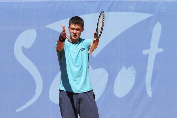 Kamil Majchrzak (na zdjęciu) nie zdołał powtórzyć sukcesu z ubiegłego roku. Tym razem w finale sopockiego turnieju uległ Zdenkowi Kolarowi.