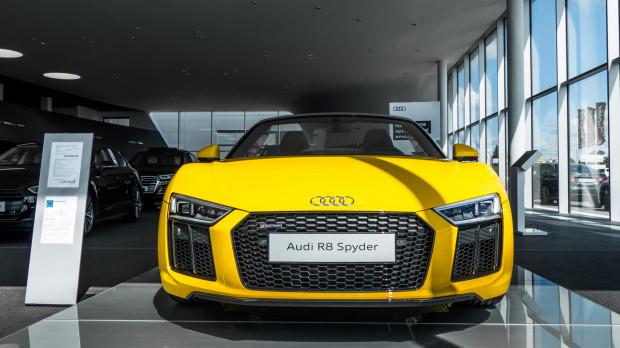 Monstrualne R8 to wizytówka Audi Sport.