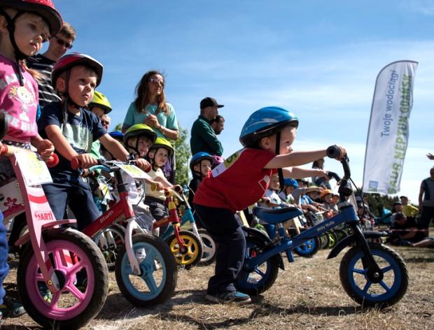 Tak bawiły się dzieci i ich opiekunowie podczas zeszłorocznej imprezy rowerowej Tupu-Tap MP2K Cup