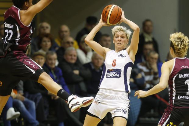 Pod koniec września koszykarki Basketu Gdynia rozpoczną walkę o fazę grupową EuroCup. Ich rywalkami będzie Spartak Nogińsk. Na zdjęciu Jelena Skerović.
