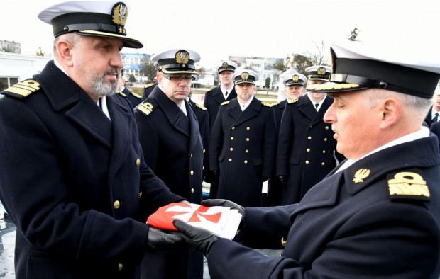 Przekazanie dowództwa na ORP Błyskawica miało miejsce 1 marca br.