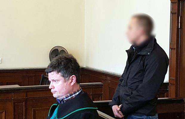 W środę 21-latek nie stawił się przed sądem, tu zdjęcie z jednej z wcześniejszych rozpraw.