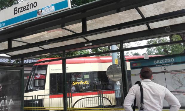 Do napaści na kontrolera doszło na pętli tramwajowej w Brzeźnie.