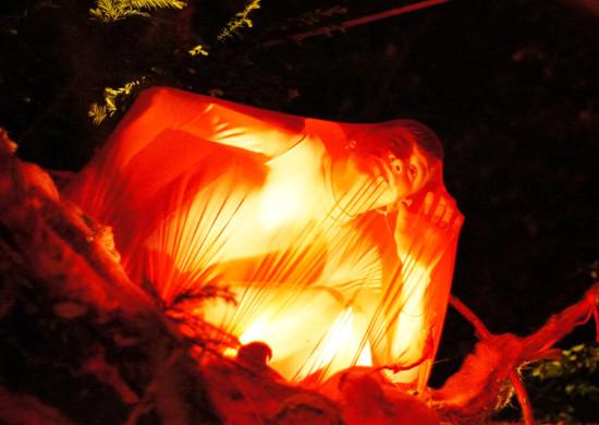 """Wizyjny """"Ovid`s Dream"""" zakończy tegoroczny Festiwal FETA w niedzielę o godz. 22 na Reducie Wilk."""