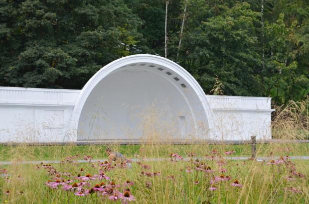 W ostatnich latach muszli nie remontowano - jedynie odmalowano ją przy okazji stworzenia kolejki na Kamienną Górę.