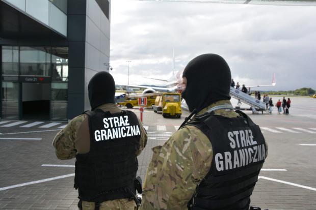 To już 14. w tym roku interwencja funkcjonariuszy Straży Granicznej na gdańskim lotnisku.