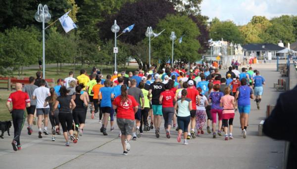 Dużą popularnością cały czas cieszą się biegi parkrun.