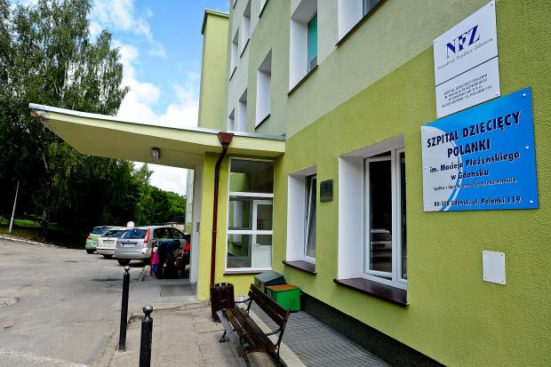 Dziewczynka zakażona bakterią wywołującą m.in. sepsę trafiła do Szpitala Dziecięcego Polanki w Gdańsku.