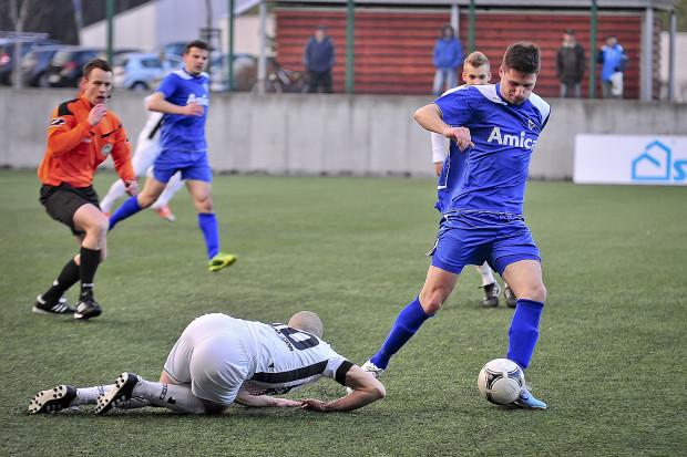 Szymon Rychłowski strzelił swoją drugą bramkę w letnich sparingach Bałtyku Gdynia.
