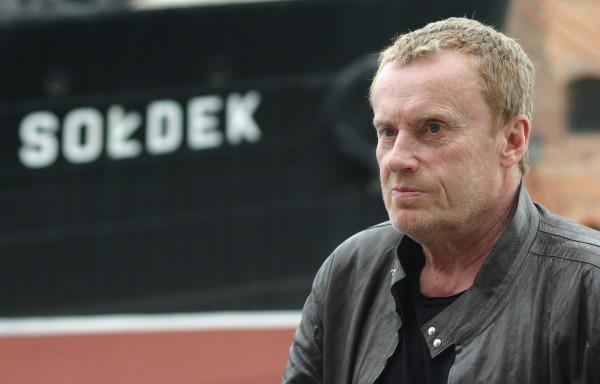 """Daniel Olbrychski także wystąpił w """"Kryminalnych"""". Aktor odwiedził przy okazji Gdańsk, czerwiec 2006."""