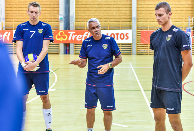 We wtorek Andrea Anastasi zacznie czwarty sezon pracy w Lotosie Treflu. Na pierwszych zajęciach pojawią się m.in. Damian Schulz (z lewej) oraz Maciej Ptaszyński (z prawej).