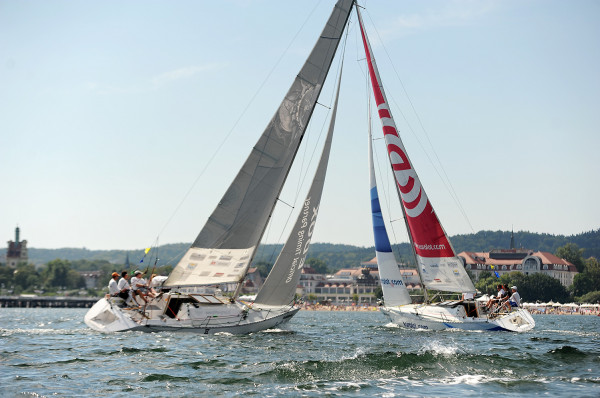 Match racing to najbardziej przejrzysta dla kibiców forma żeglarskiego wyścigu. Na trasie są tylko dwa jachty, a wygrywa ten, który jest pierwszy na mecie.