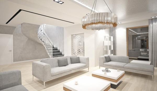Otwarta przestrzeń stwarza możliwość do odpoczynku i komfortowego funkcjonowania.