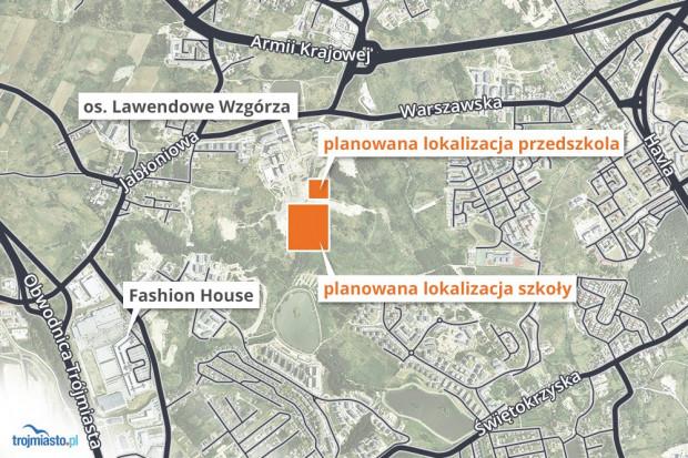 Do tych placówek edukacyjnych będzie można dojechać z Moreny ul. Nową Bulońską.
