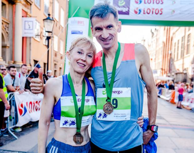 Bożena i Piotr Pobłoccy powtórzyli wyczyn z 2015 roku. Oboje triumfowali w biegu VIP.