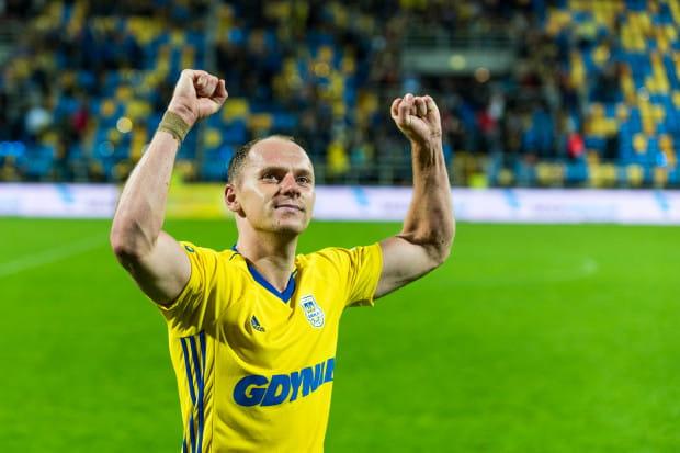 Rafał Siemaszko strzelił 2 gole dla Arki Gdynia w szalonym meczu ze Śląskiem Wrocław.